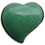 ReadyGolf: Gemstone Heart Shaped Ball Marker - Green Aventurine