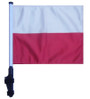 SSP Flags: 11x15 inch Golf Cart Flag with Pole - Poland