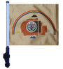 SSP Flags: 11x15 inch Golf Cart Flag with Pole - Navajo Nation