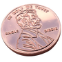 ReadyGolf: Giant Lucky Penny Ball Marker & Hat Clip