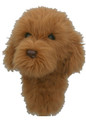 Daphne's HeadCovers: Labradoodle / Doodle  Dog - Golden Golf Club Cover