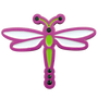 ReadyGolf: Dragonfly Ball Marker & Hat Clip with Crystals