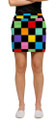Loudmouth Golf: Womens Skort - HollyWoody Squares*