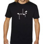 It Says Golf: Mens Premium T-Shirt - Black