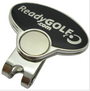 ReadyGolf: Guitar Pick Ball Marker & Hat Clip - Black