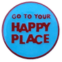ReadyGOLF: Happy Place Golf Ball Marker