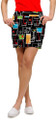 Loudmouth Golf Womens Skort - Happy Hour