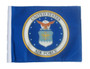 SSP Flags: 6x9 inch Golf Cart Replacement Flag - Licensed Air Force Coat of Arms