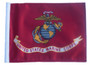 SSP Flags: 6x9 inch Golf Cart Replacement Flag - Licensed US Marine Corps