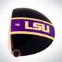 ClubCrown Stripes: Removable Driver Decal - LSU
