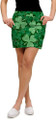 Loudmouth Golf: Women's Skort - Lucky Shamrocks