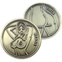 ReadyGolf: Naked Lady Heads or Tails Flip Coin Ball Marker & Hat Clip