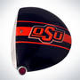 ClubCrown Stripes: Removable Driver Decal - Oklahoma State