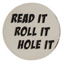 ReadyGolf: Read it, Roll it and Hole it Golf Ball Marker & Hat Clip