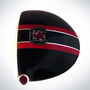 ClubCrown Stripes: Removable Driver Decal - South Carolina