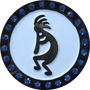 ReadyGolf: Southwest Kokopelli Ball Marker with Crystals