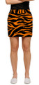 Loudmouth Golf: Women's Skort - Orange & Black Tiger Stripes*