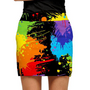 Loudmouth Golf: Womens Skort - Paint Balls