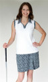 GolfHer Ladies Golf Sleeveless Polo - Par-Tee