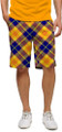 Loudmouth Golf: Men's Shorts - Peanut Butter & Jelly