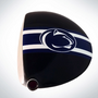 ClubCrown Stripes: Removable Driver Decal - Penn State