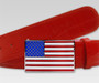 Druh Belts: USA Flag Buckle
