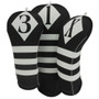 BeeJos: Golf Head Cover - Victor Collection Black and White