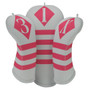 BeeJos: Golf Head Cover - Victor Collection White and Hot Pink