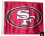 SSP Flags: NFL 11x15 inch Flag Variety - San Francisco 49ers