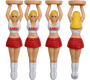 Sexy Lady Caddy Golf Tees (4 Pack)