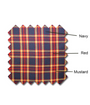 Golf Knickers: Men's 'Par 5' Plaid Golf Knickers & Cap - Admiral