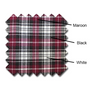 Golf Knickers: Men's 'Par 5' Plaid Golf Knickers & Cap - Mulberry