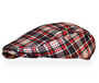 Golf Knickers: Men's 'Par 5' Plaid Golf Knickers Cap & Bow Tie - Old English