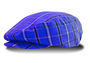 Golf Knickers: Men's 'Limited Edition' Plaid Golf Knickers & Cap - Royal Blue