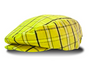 Golf Knickers: Men's 'Limited Edition' Plaid Golf Knickers & Cap - Yellow