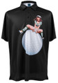Long Bomber Mens Pin-Up Golf Polo Shirt by ReadyGOLF