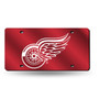 NHL Detroit Red Wings Plastic License Plate - SALE