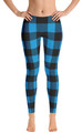 ReadyGOLF: Lumberjack Blue Women's All-Over Leggings