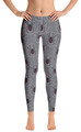 Black Widow Grey Women's All-Over Leggings by ReadyGOLF