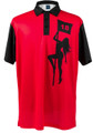 Pole Dancer (Red) Mens Golf Polo Shirt by ReadyGOLF