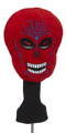 Creative Covers: Red Skull Golf Headcover
