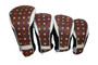 Taboo Fashions: Ladies 4-Pack Club Cover Set - Cocoa Eye Candy