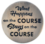 ReadyGolf: What Happens on the Course, Stays on the Course Ball Marker & Hat Clip