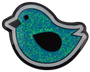 Birdie Hunting Glitter Ball Marker & Hat Clip - Blue by ReadyGOLF