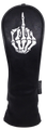 Skeleton Bone Middle Finger Embroidered Headcover -  Hybrid
