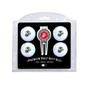 Team Golf US Marines 4 Ball and Divot Tool Gift Set