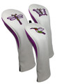 ReadyGolf (Set of 3) Embroidered Hybrid Headcovers - Superfly
