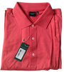 Fairway & Greene Men's Polo - Signature Solid Lisle (Nantucket Red) Large - SALE