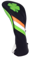 Irish Shamrock Embroidered Headcover by ReadyGOLF - Driver