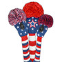 Just 4 Golf: Stars & Stripes Forever Headcover Set - Red, White & Blue